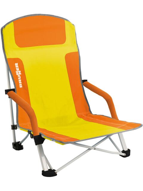 Brunner Bula - Siège camping - jaune/orange
